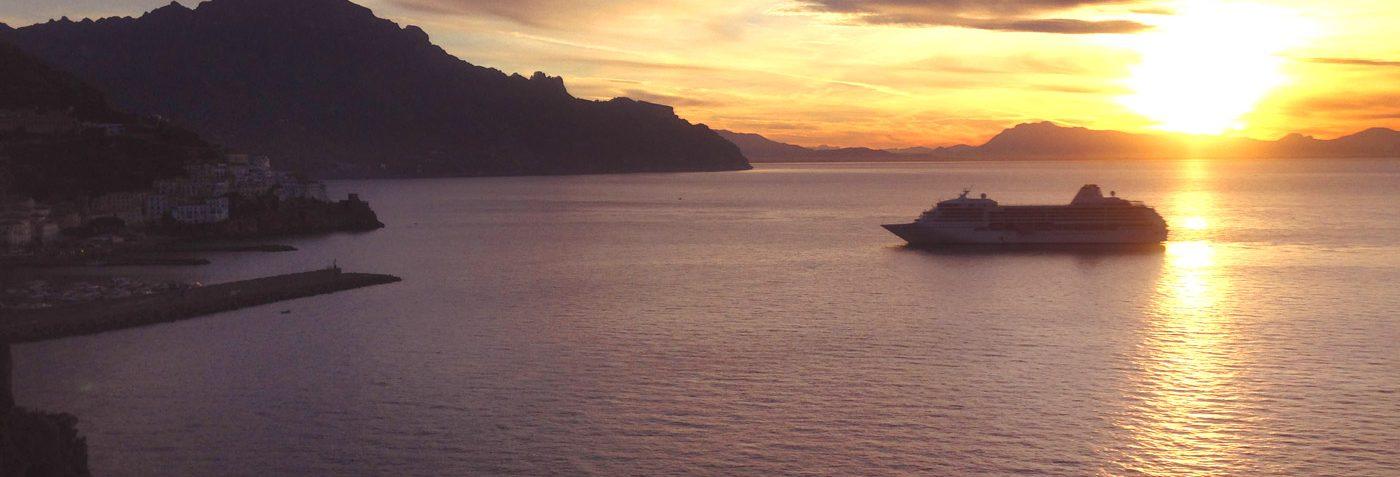 Sorento tour Amalfi Coast with dinner sunset